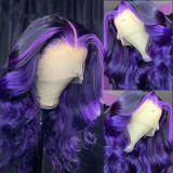 Ulovewigs Pre Plucked Human Virgin Hair  Lace Front Wig  Free Shipping(ULW0045)