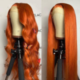 Ulovewigs Human Virgin Hair Pre Plucked Lace Front Wig  Free Shipping (ULW0285)