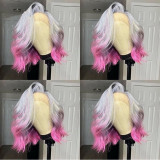 Ulovewigs Human Virgin Hair Pre Plucked Lace Front Wig   Free Shipping (ULW0378)