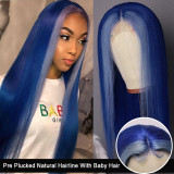 Ulovewigs Human Virgin Hair Pre Plucked Lace Front Wig  Free Shipping (ULW0264)