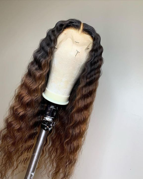Ulovewigs Human Virgin Hair Pre Plucked Lace Front Wig Free Shipping (ULW0269)