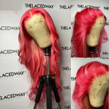 Ulovewigs Human Virgin Hair Pre Plucked Lace Front Wig  Free Shipping (ULW0369)