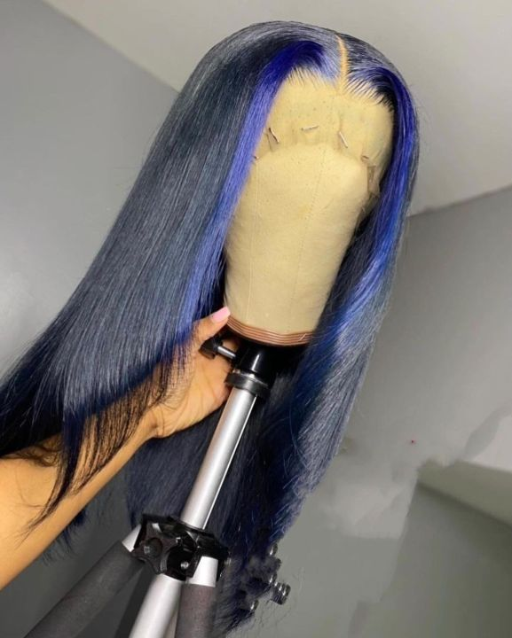 Ulovewigs Human Virgin Hair Pre Plucked Lace Front Wig  Free Shipping(ULW0067)