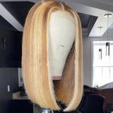 Ulovewigs Pre Plucked Human Virgin Hair  bob Lace Front Wigs (ULW0015)