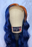 Ulovewigs Human Virgin Hair Pre Plucked Lace Front Wig  Free Shipping (ULW0313)