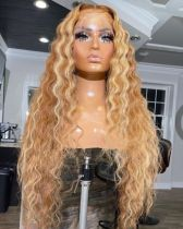 Ulovewigs Human Virgin Hair Pre Plucked Lace Front Wig  Free Shipping (ULW0415)