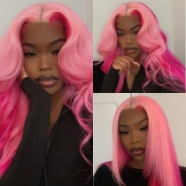 Ulovewigs Human Virgin Hair Pre Plucked Lace Front Wig   Free Shipping (ULW0241)