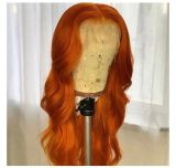 Ulovewigs Human Virgin Hair Pre Plucked Lace Front Wig   Free Shipping (ULW0318)