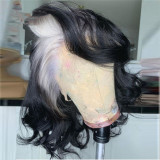 Ulovewigs Human Virgin Hair Pre Plucked Lace Front Wig  Free Shipping(ULW0066)