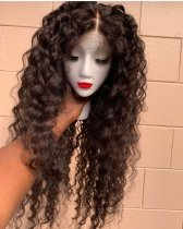 Ulovewigs Human Virgin Hair Wave Pre Plucked 13*6Lace Front Wig And Full Lace Wig For Black Woman Free Shipping (ULW0077)