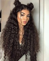 Ulovewigs Human Virgin Hair Wave Pre Plucked 13*6Lace Front Wig And Full Lace Wig For Black Woman Free Shipping (ULW0083)