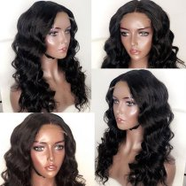 Ulovewigs Human Virgin Hair Wave Pre Plucked 13*6Lace Front Wig And Full Lace Wig For Black Woman Free Shipping (ULW0084)