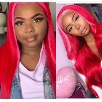 Ulovewigs Human Virgin Hair Pre Plucked Lace Front Wig And Full Lace Wig Free Shipping (ULW0248)