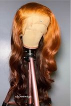 Ulovewigs Human Virgin Hair Pre Plucked Lace Front Wig And Full Lace Wig Free Shipping (ULW0377)