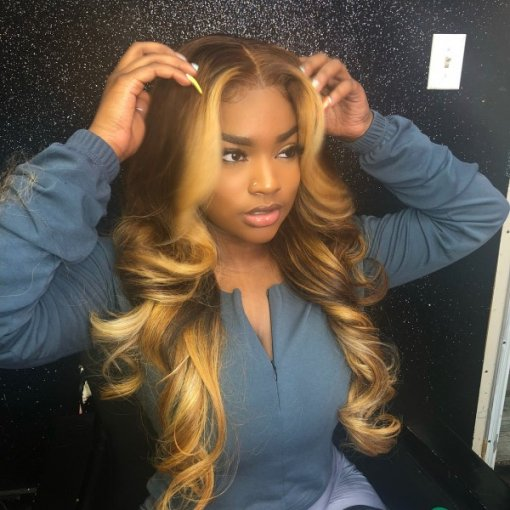 Ulovewigs SUMMERELLA Style Pre Plucked Human Hair wigs (ULW0028)