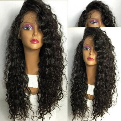 Ulovewigs Human Virgin Hair Wave Pre Plucked 13*6Lace Front Wig And Full Lace Wig For Black Woman Free Shipping (ULW0078)