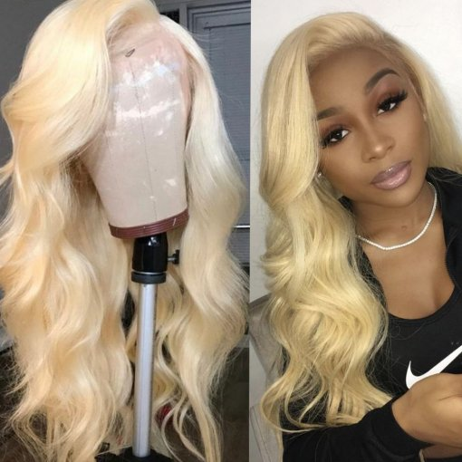 Ulovewigs Human Virgin Hair 613 Color Pre Plucked Lace Front Wig And Full Lace Wig For Black Woman Free Shipping (ULW0096)