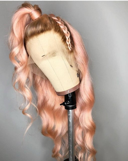 Ulovewigs Human Virgin Hair Pre Plucked Lace Front Wig And Full Lace Wig Free Shipping (ULW0334)