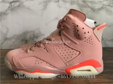 Authentic Air Jordan 6 Retro Millennial Pink