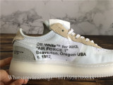 Off White x Nike Air Force 1 Low Top White