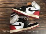2018 Union x Air Jordan 1 High OG Black White Red