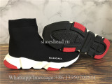 Balenciaga Speed Trainer Sock Black Red