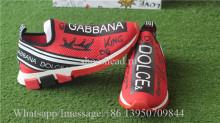 Dolce & Gabbana Slip-on Styling Sneaker Red