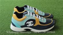 Chanel Sneaker Blue Yellow White