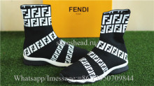 Fendi FF Print Sock Boot