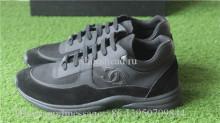 Chanel Sneaker Low Top Triple Black