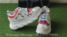 Versace Chain Reaction Shoes White GS