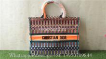 Christian Dior Book Tote bag M1286 Orange