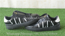 Valentino Garavani VLTN Leather Sneaker Black