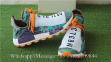 Fish Scale Boost PW x Adidas NMD Hu Tr Solar Pack Orange