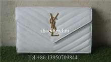 YSL Saint Laurent Shoulder Bag White