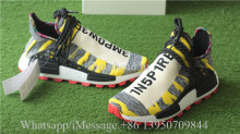 PW X Adidas Afro NMD Hu Solar Pack Core Black Red