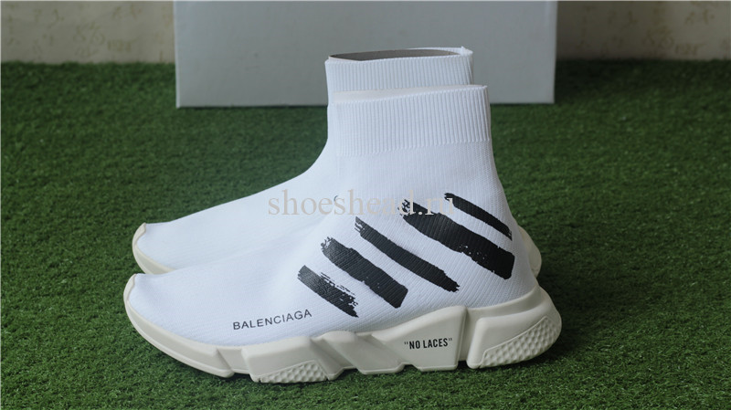 x Balenciaga Speed Trainer Sock White