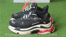Off White x Balenciaga Triples Sneaker Black_004