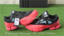 Raf Simons x Adidas Consortium Ozweego II Black Red