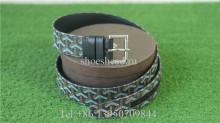 Goyard Belt Printing Black