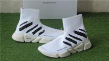 Off White x Balenciaga Speed Trainer Sock White