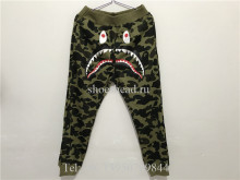 A Bathing Ape Bape Camo Green Pants