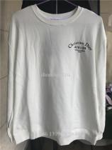 Christian Dior Atelier Print White Cotton Sweatshirt