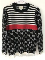 Gucci GG Stripes Knit Shirt