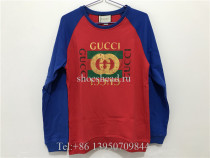 Gucci Red Blue Sweatershirt