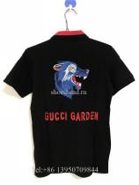 Gucci Garden Wolf Black Polos