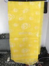 Alexander McQueen Yellow Scarf