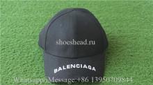 Balenciaga Cap Black