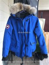Nobis Canada Goose Blue Down Jacket