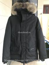 Nobis Canada Goose Langford Parka Black Coat